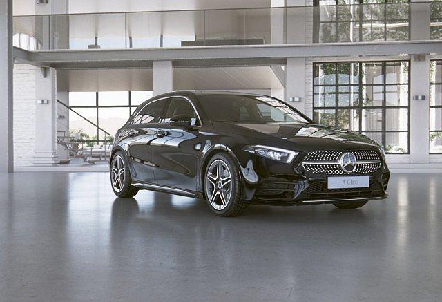 Mercedes-Benz A-Klasse - A 200 AMG Sport LED Navi Spurh.-Ass. SHZ Einpark