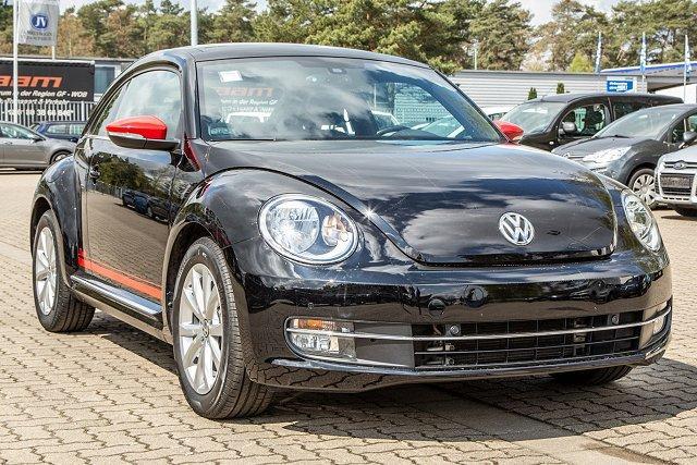 Volkswagen Beetle - CLUB 2.0 TDI *+FENDER+LEDER+NAVI+PANO!*