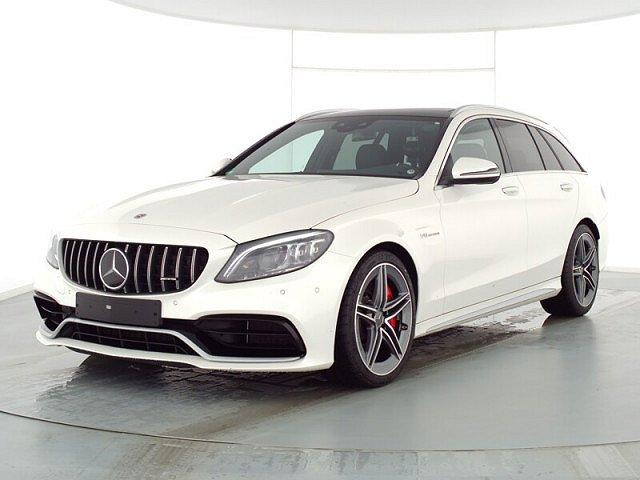 Mercedes-Benz C-Klasse AMG - C 63 S T Performance Abstandstemp. LED Pano