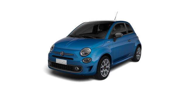 Fiat 500 Hybrid - Sport Sie sparen 5.770 Euro, 1.0 GSE 51kW 69PS, SkyDome Panoramadach , Klimaautomatik, Sportlederlenkrad, 7