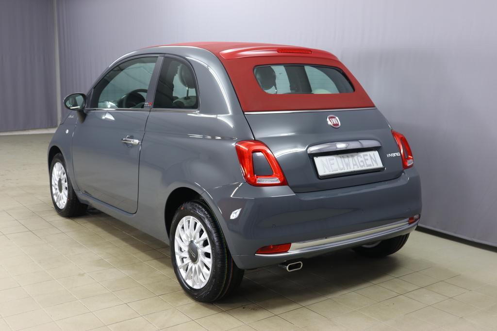 500C  DOLCEVITA 51kW (69PS) Modell 2021 -- Serie 9735 - Carrara Grau626 - Stoff
