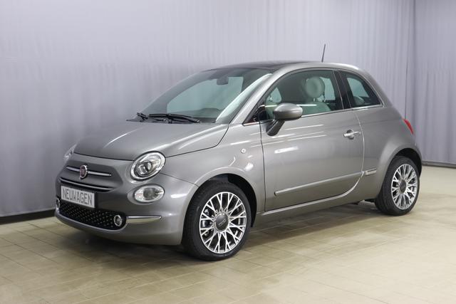 Gebrauchtfahrzeug Fiat 500 - Star 1,2 8V UVP 19.845 Euro, Panorama-Dach, Navigationssystem, DAB, Klimaautomatik, PDC hinten, Apple Carplay / Android Auto, Licht und Regensensor, Lederschaltknauf, 16 Zoll Alufelgen uvm.