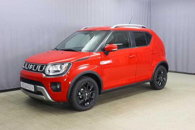 Suzuki Ignis - GLX Sie sparen 2.810 Euro, Hybrid 1.2 61kW, Klimaautomatik, Sitzheizung, Navigationssystem, Radio DAB, Rückfahrkamera, Dachreling, Nebelscheinwerfer, 16 Zoll Leichtmetallfelgen, uvm.