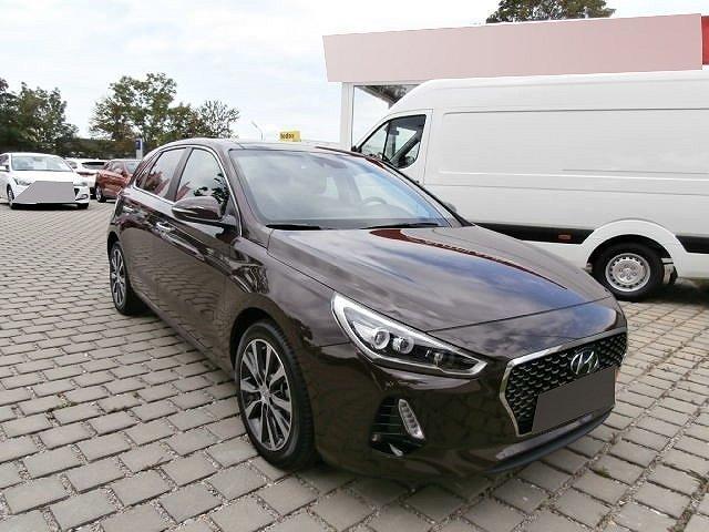 Hyundai i30 - Premium 1.4 T-GDI +LEDER+LED+NAVI+KEYLESS+KLIMASITZE+EL.SITZE+RÜCKFAHRKAMERA+PANORAMA