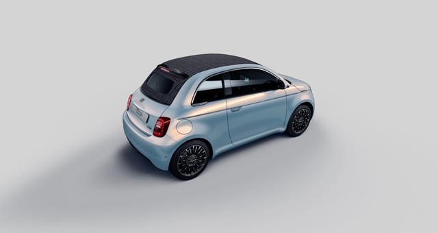 Fiat Neuer 500C La Prima MIT easyWallbox, Getönte Heck- und Seitenscheiben hinten, Winter Paket:, Beheizbare Vordersitze - Auflagefläche der Frontscheibenwischer beheizbar, Stauassistent uvm.