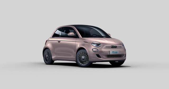 """Vorlauffahrzeug Fiat 500C - ICON UVP 38.690,00 Verdeck Schwarz, Kabelloses Smartphone-Ladepad, Winter Paket:, Beheizbare Vordersitze, 17""""-Leichtmetallfelgen mit Diamantfinish, Getönte Seitenscheiben hinten, Voll-LED-Scheinwerfer """"Infinity"""" uvm."""