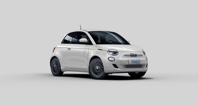 Fiat 500 - Icon 3 +1 Verkehrszeicheninformation, Navigation, Beheizbare Vordersitze, Co-Driver Paket: Autonomes Fahren Level 2, Voll LED-Scheinwerfer Infinity, Fernlichtassistent uvm.