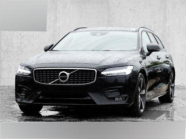 Volvo V90 - Kombi R-Design D4 EU6d-T LED Navi Keyless Kurvenlicht e-Sitze Rückfahrkam.Radar El.Heckkl.