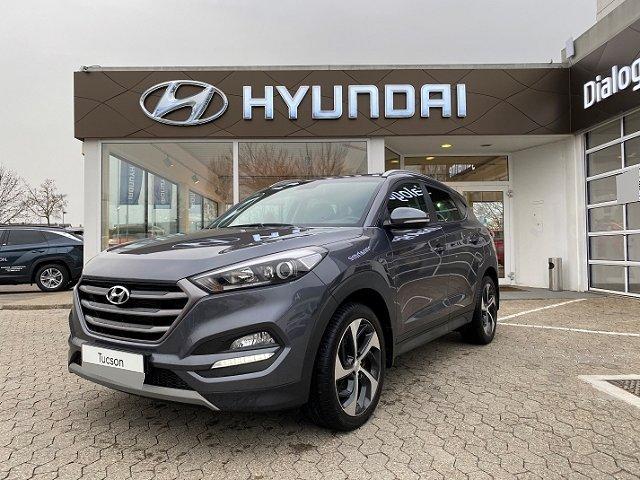 Hyundai Tucson - NAVI+KLIMAAUTO+AHK+KAMERA+PDC+SHZ+TEMPO Navi Rückfahrkam. LED-Tagfahrlicht Multif.Lenkrad