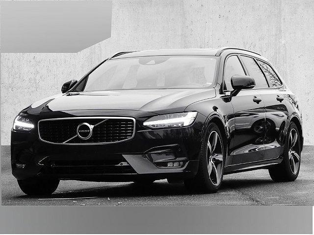 Volvo V90 - Kombi R Design D4 EU6d-T LED Navi StandHZG Keyless Dyn. Kurvenlicht e-Sitze ACC Fernlichtass.