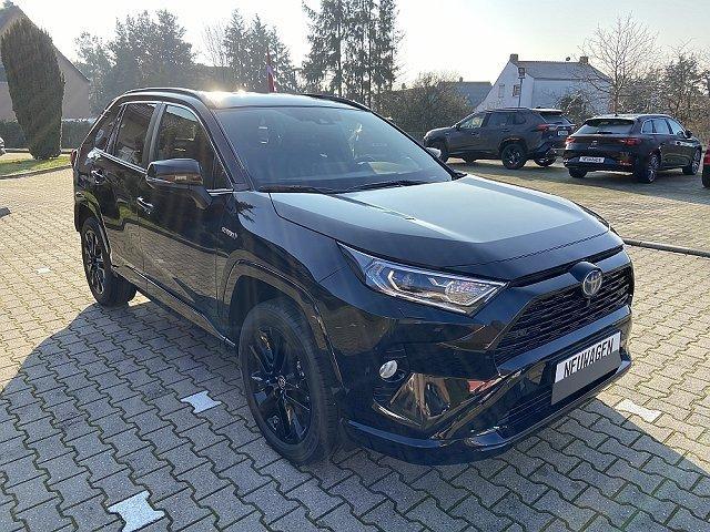 Toyota RAV4 - RAV 4 2.5 Hybrid AWD Black Edition Auto Voll. OnlineAkt