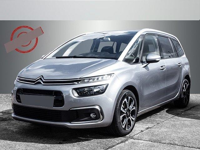 Citroën Grand C4 SpaceTourer - Shine BlueHdi EAT6 7-Sitzer Navi Teilleder SHZ DAB