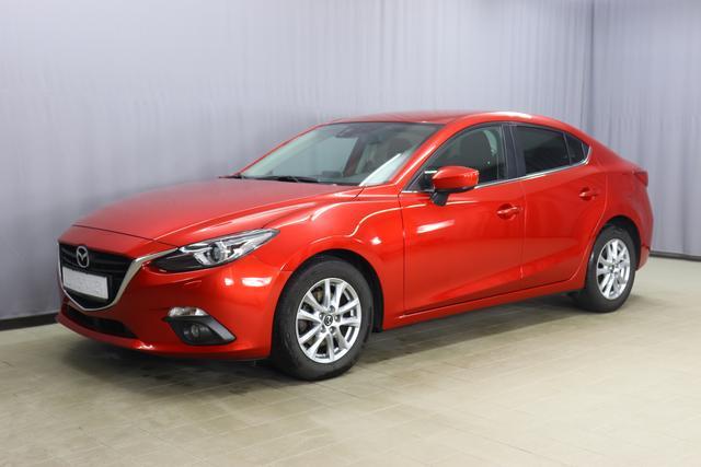 Mazda 3 - Skyactive-G120 2.0 88kW, Klimaautomatik, Sitzheizung, Navigationssystem, Freisprecheinrichtung, Tempomat, PDC hinten, Licht&Regensensor, Nebelscheinwerfer, 16 Zoll Leichtmetallfelgen, uvm.