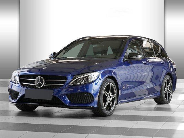 Mercedes-Benz C-Klasse - C 200 T AMG Sport AHK LED Pano Navi Abstandstemp