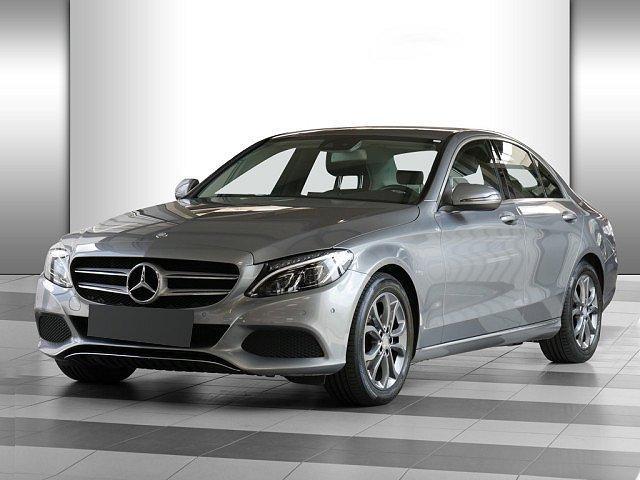 Mercedes-Benz C-Klasse - C 200 d Avantgarde LED Navi Totw.-Ass. SHZ Einpa