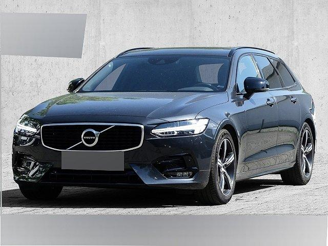 Volvo V90 - Kombi R-Design D4 EU6d-T LED Navi Keyless Dyn. Kurvenlicht e-Sitze Fernlichtass.
