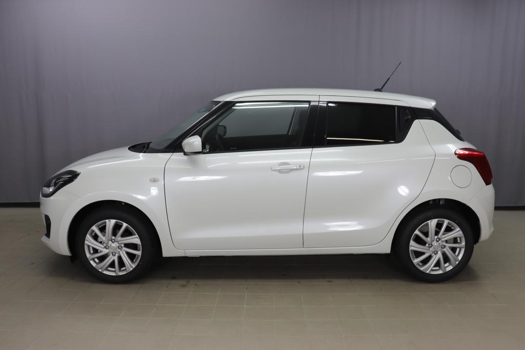 Suzuki Swift Hybrid 1,2 12V GL+ AC 5 MT 2 WD ISG 61kWWhite MetallicStoff schwarz