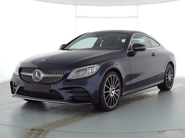 Mercedes-Benz C-Klasse - C 300 Coupé AMG Line MultibLED Navi Kamera Spurh