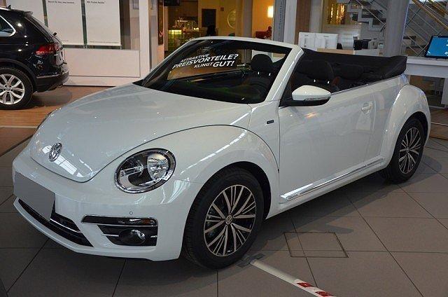Volkswagen Beetle Cabriolet - Cabrio 1.4 TSI Allstar R ckfahrkam/Navi/Sit