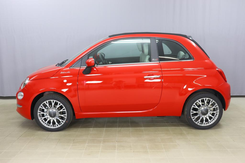 500C  DOLCEVITA 51kW (69PS) Modell 2021 -- Serie 9111 - Passione Rot636 - Stoff