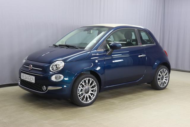 Fiat 500C - Dolcevita Sie sparen 6.170,00 Euro 1,0 Verdeck Beige, Navigationssystem Uconnect™ , MJ 2021 Apple CarPlay, 16