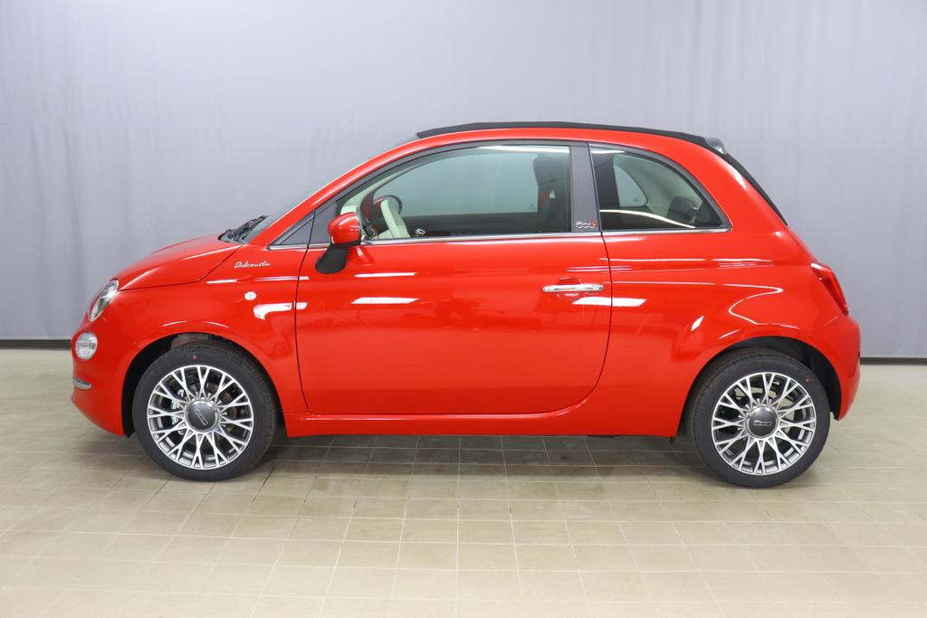 500C  DOLCEVITA 51kW (69PS) Modell 2021 -- Serie 9111 - Passione Rot592 - Stoff