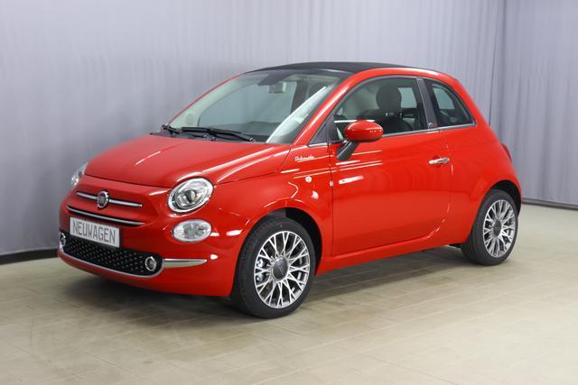 Fiat 500C Hybrid - Dolcevita Sie sparen 4.940,00 Euro 1,0 GSE, Veredeck Schwarz, Navigationssystem, Parksensoren hinten- Licht- und Regensensor - Nebelscheinwerfer Höhenverstellbarer Fahrersitz, 16