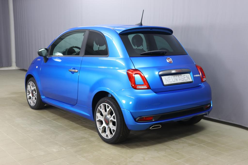 500 MY21 1.0 GSE Hybrid SPORT 51kW (70PS)425 - Italia Blau229 - Stoff