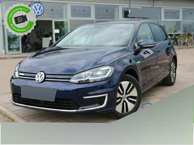 Volkswagen Golf - e-Golf 100 kw WÄRMEPUMPE+CLIMATRONIC+NAVI+