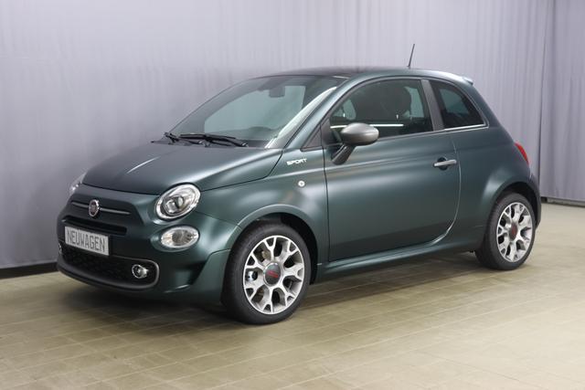 Fiat 500 - Sport Sie sparen 5.790 Euro, 1.0 GSE 51kW 69PS, SkyDome Panoramadach , Klimaautomatik, Sportlederlenkrad, 7