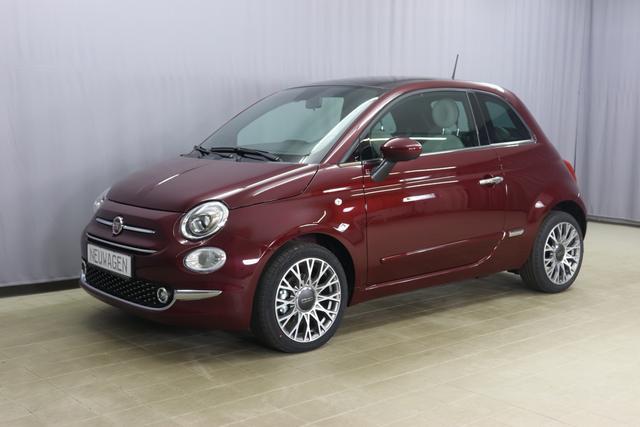 Fiat 500 Hybrid Star Sie sparen 5.410 Euro 1.0 GSE N3 BSG 6GANG, Navigation, Radio DAB, Licht und Regensensor, PDC hinten, Nebelscheinwerfer, Seitenschutzleisten in Wagenfarbe inklusive Badges, Notrad uvm