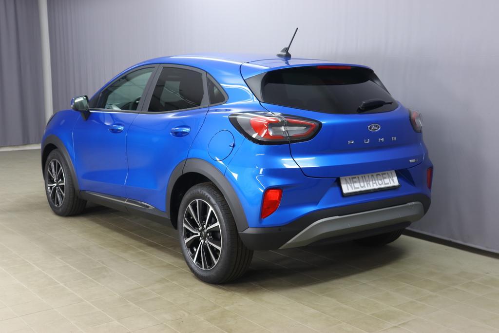 Ford Puma Titanium 1.0 mHEV EcoBoost(125) Desert Island Blue
