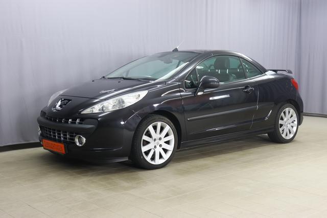 Peugeot 207 - CC Cabrio-Coupe 1.5 Diesel Schaltgetriebe 2 Zonen Klimaautomatik, Lederinnenausstattung, Sitzheizung, Leichtmetallfelgen, Lichtsensor, JBL Soundsystem, Einparkhilfe