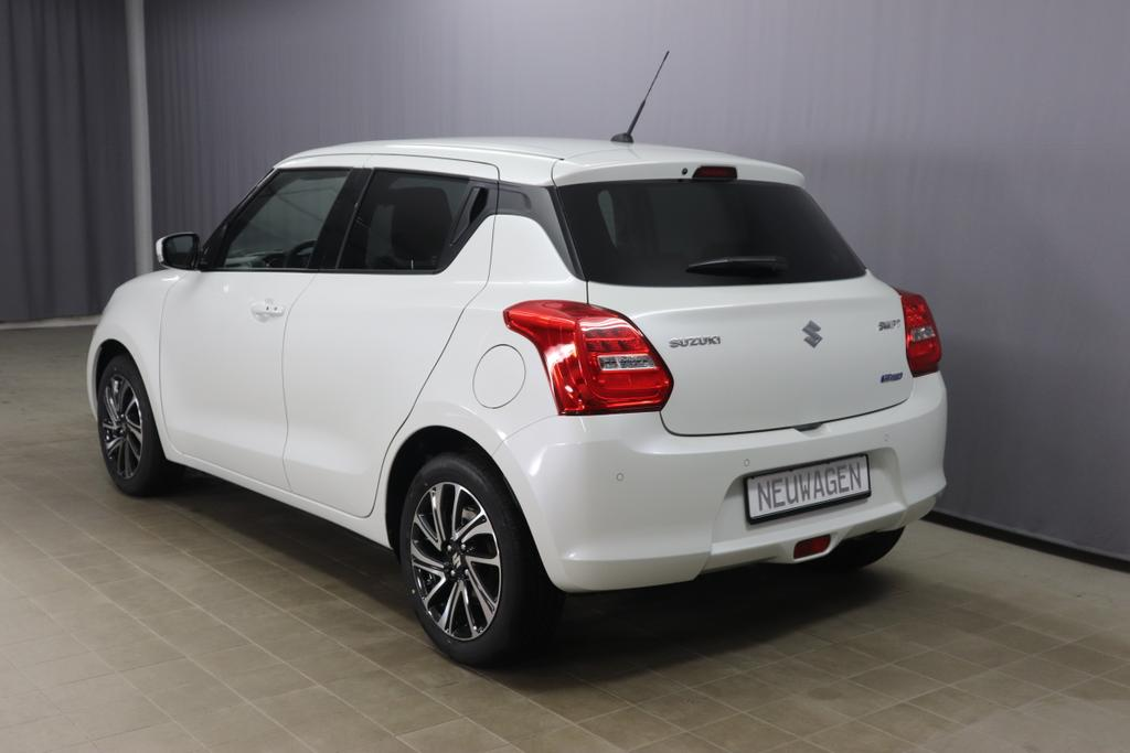Suzuki Swift Hybrid 1,2 12V GLX AAC 5MT 2WDWhite Metallic