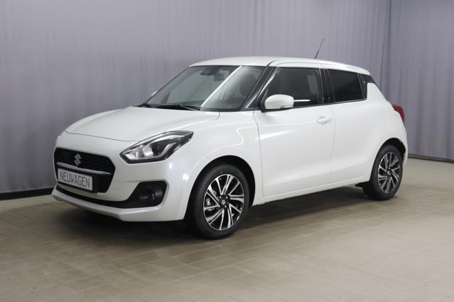 """Lagerfahrzeug Suzuki Swift - GLX UVP 20.667 Euro, Hybrid 61kW, Klimaautomatik, Sitzheizung, 7"""" Touchscreen, Radio DAB, Navigationssystem, Rückfahrkamera, LED Scheinwerfer, Nebelscheinwerfer, 16 Zoll Alufelgen, uvm."""