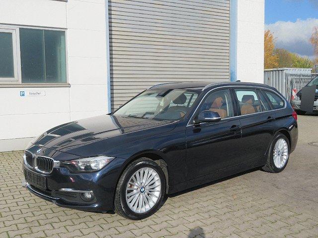 BMW 3er Touring - 318 dA Luxury Line*HeadUp*Navi*PDC*Leder*