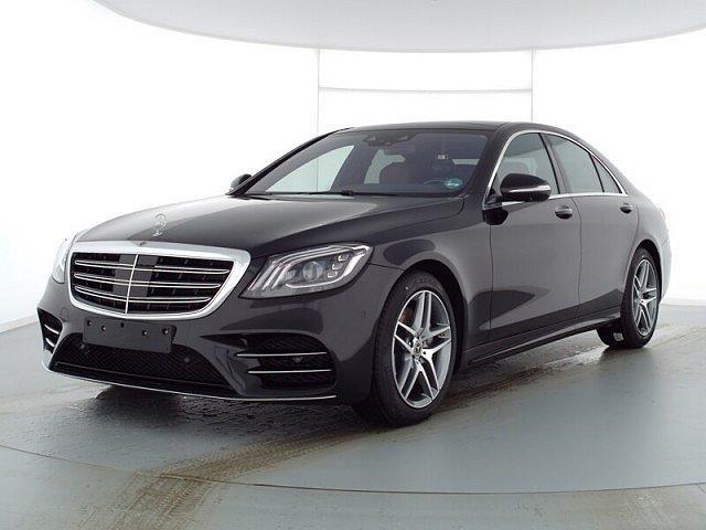 Mercedes-Benz S-Klasse - S 400 d 4M AMG Line Distronic+ Nachts. HUD Fond-