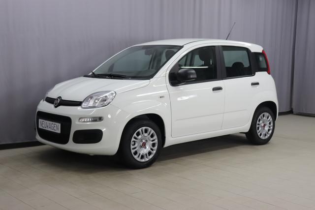 Fiat Panda - Easy Sie sparen 2.290 Euro, Hybrid 1.0 GSE 51kW, Modell 2021 Klimaanlage, Höhenverstellbarer Fahrersitz, Zentralverriegelung, ABS, Servolenkung, Isofix, 14 Zoll Stahlfelgen, uvm.