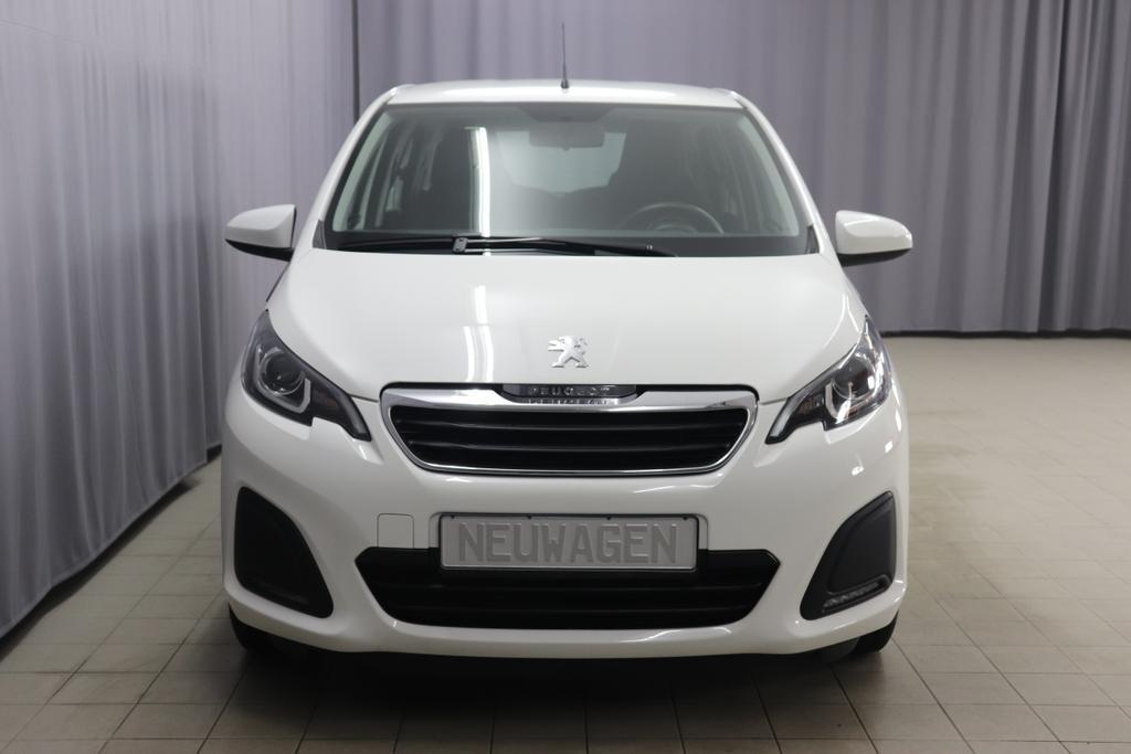 Peugeot 108 Active 1,0 VTi 72  998 ccm 53 kW S&SWeiß