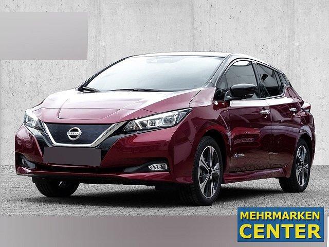 Nissan Leaf - MY 19 Tekna Zweifarblackierung, Bose, AVM Leder LED Navi Keyless ACC Parklenkass.