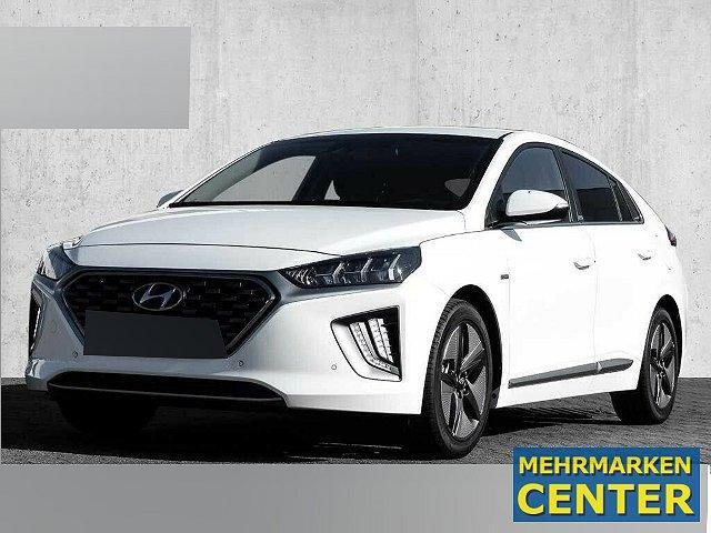 Hyundai IONIQ - Hybrid 1.6 GDI Premium Navi Leder Kamera K LED-Tagfahrlicht RDC Alarm Klimaautom