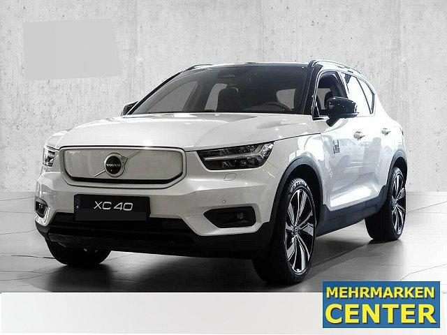 Volvo XC40 - XC 40 P8 AWD Recharge R-Design +MY21+ LED Navi Dyn. Kurvenlicht e-Sitze ACC Panorama Fernlichtass.