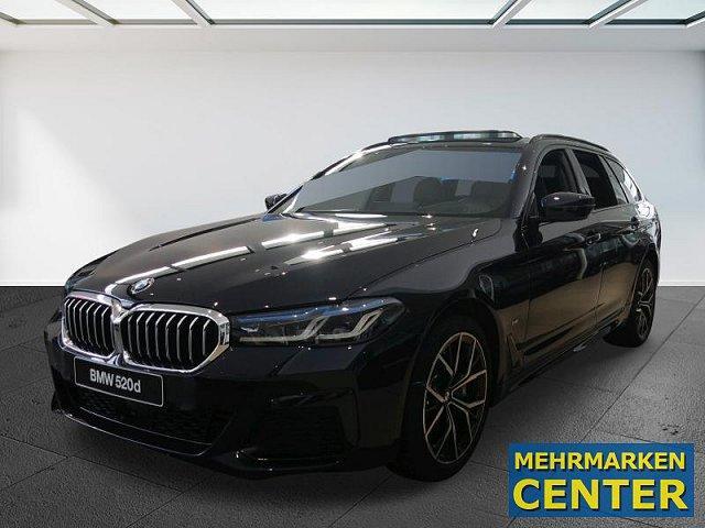 BMW 5er - 520d xDrive Touring AHK M-Sport Winterfreude