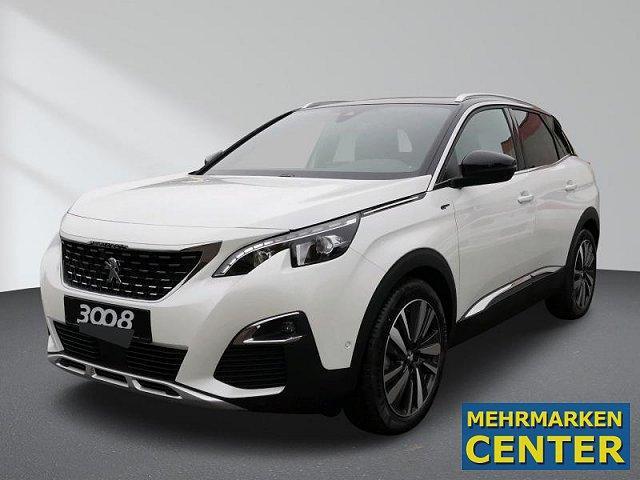 Peugeot 3008 - GT BlueHDi 180 Stop Start EAT8 Klimaautomatik, ACC, Park Assist, Panorama-Ausstell./Schiebedach,