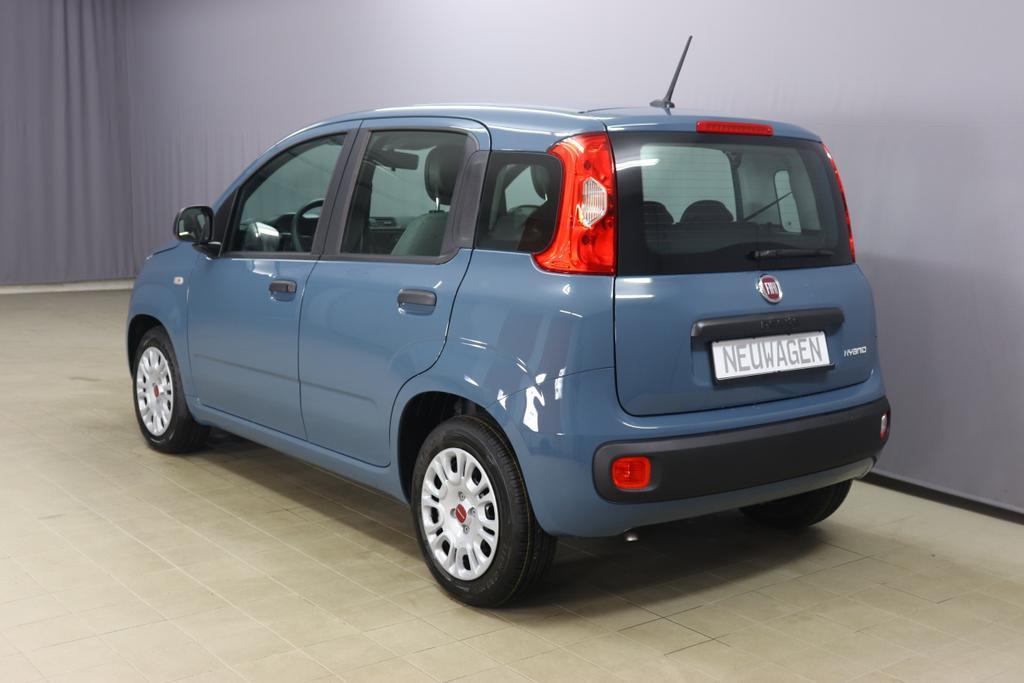 Fiat Panda 1.0 GSE Hybrid Easy 51kW332 Keramik Blau123 Stoff Schwarz/Grau