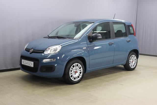 Fiat Panda - Easy Hybrid Sie sparen 2.580 Euro 1.0 GSE 51kW, Klimaanlage, Servolenkung, Bordcomputer, Radio/Tuner, USB Schnittstelle, Reifendruckkontrolle, Tagfahrlicht, Notrad, 14 Zoll Stahlfelgen, uvm.