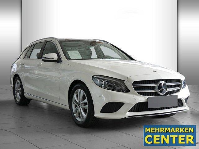 Mercedes-Benz C-Klasse - C 160 T Avantgarde AHK Pano LED Abstandstemp. Pa