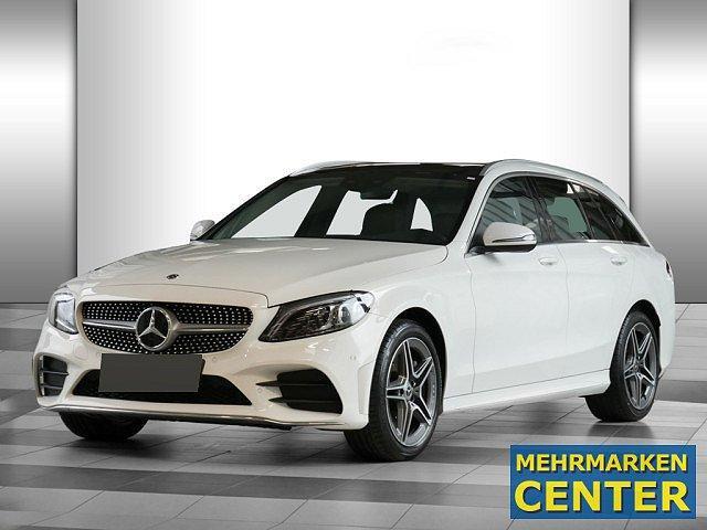 Mercedes-Benz C-Klasse - C 400 4M T AMG Sport Pano HUD Abstandstemp. LED