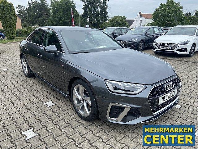Audi A4 Limousine - 40 TFSI S-Tronic S-Line Lim TopAusst. OnlineAktion
