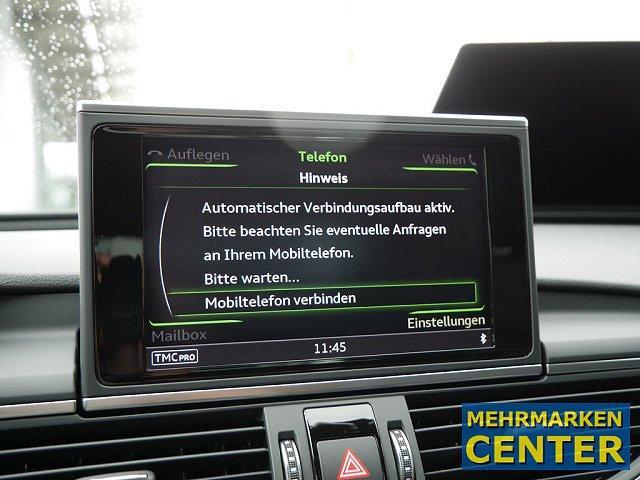 Audi A6 1.8 TFSI S line ultra LED Navi Sounds. Leder